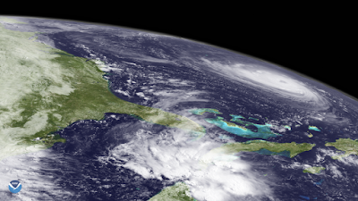 By NASA Goddard Space Flight Center from Greenbelt, MD, USA - Limb View of Hurricane Florence, CC BY 2.0, https://commons.wikimedia.org/w/index.php?curid=72696528